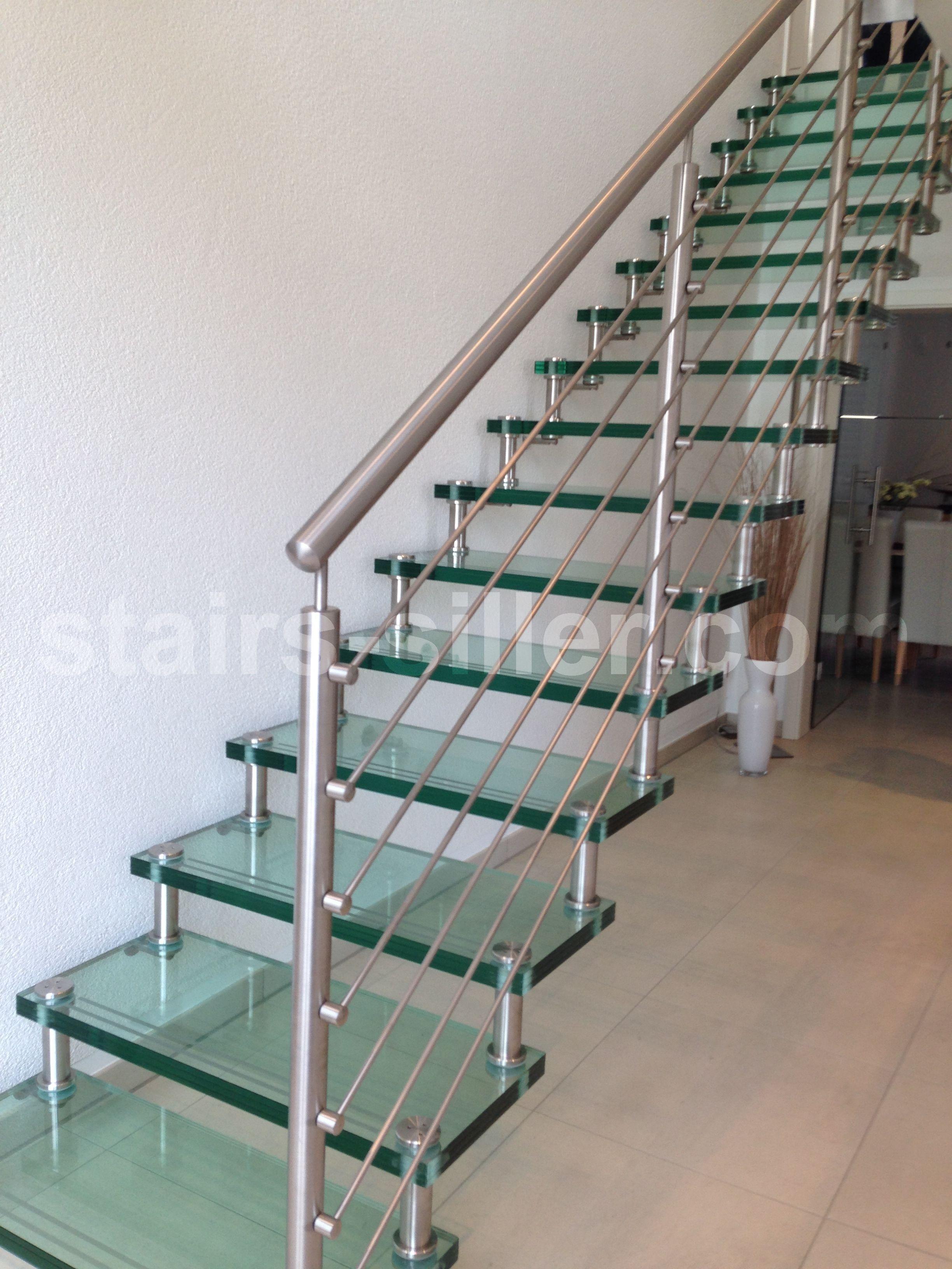 STRAIGHT Scala a giorno in ferro e vetro by Siller Treppen design ...