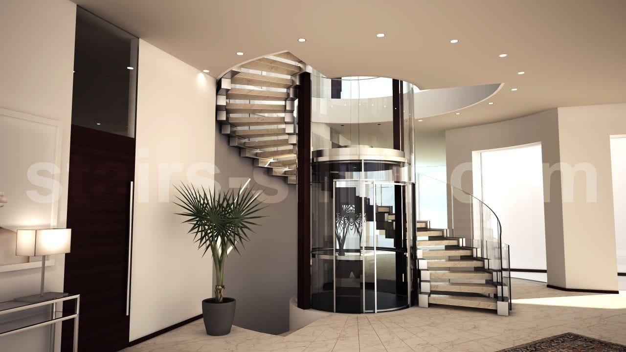 cobra spindeltreppe by siller treppen design christian siller. Black Bedroom Furniture Sets. Home Design Ideas