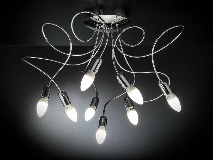 Free spirit classic lampada da soffitto by metal lux di baccega r ...
