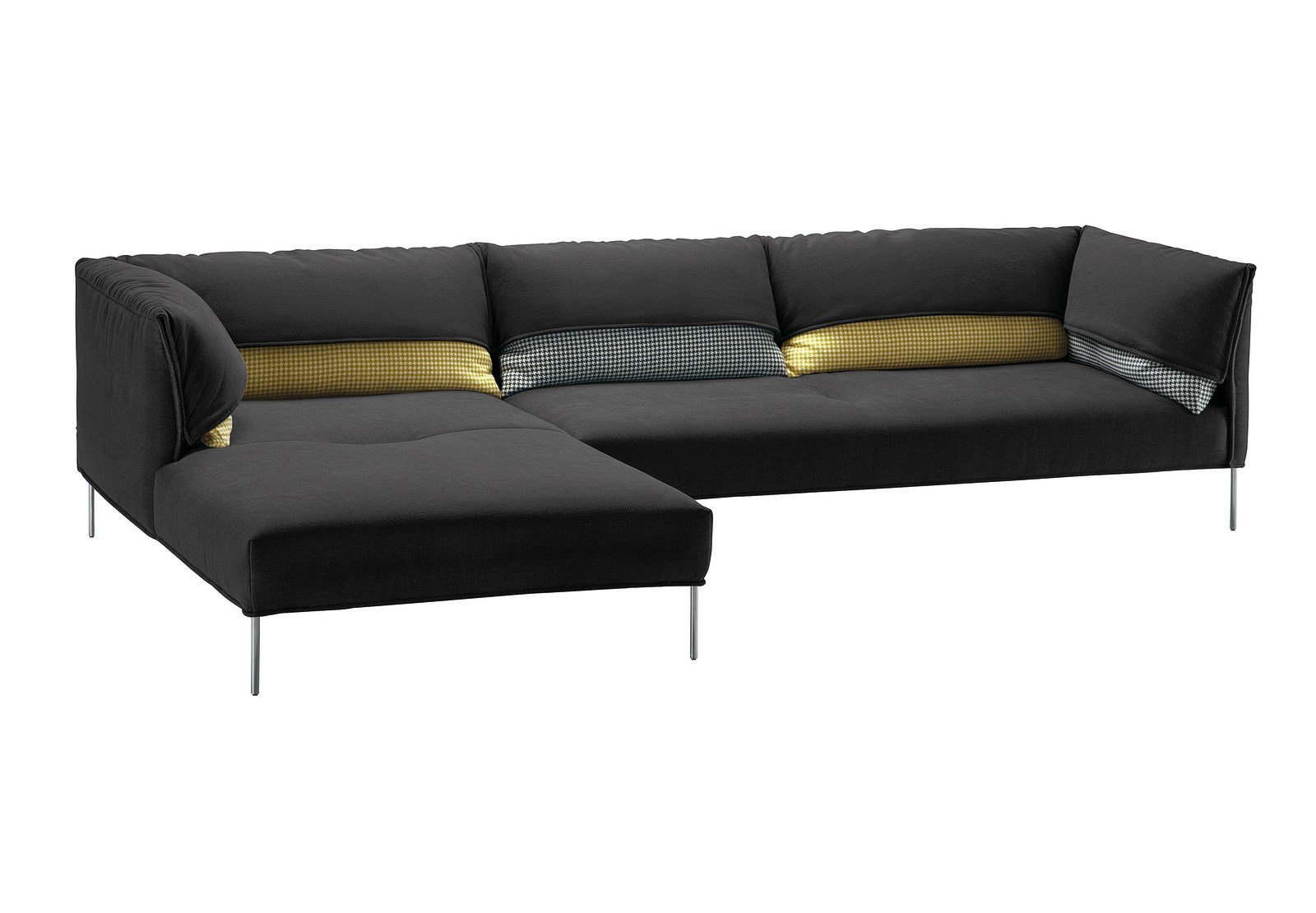 sofa mit abnehmbarem bezug undercover by zanotta design anna von schewen. Black Bedroom Furniture Sets. Home Design Ideas