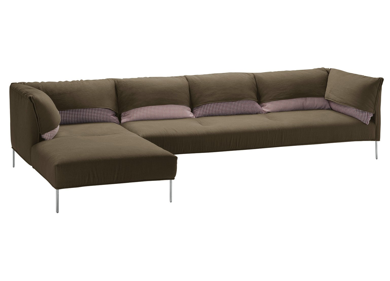 sectional sofa with removable covers   Sofa with removable cover UNDERCOVER by Zanotta design ...