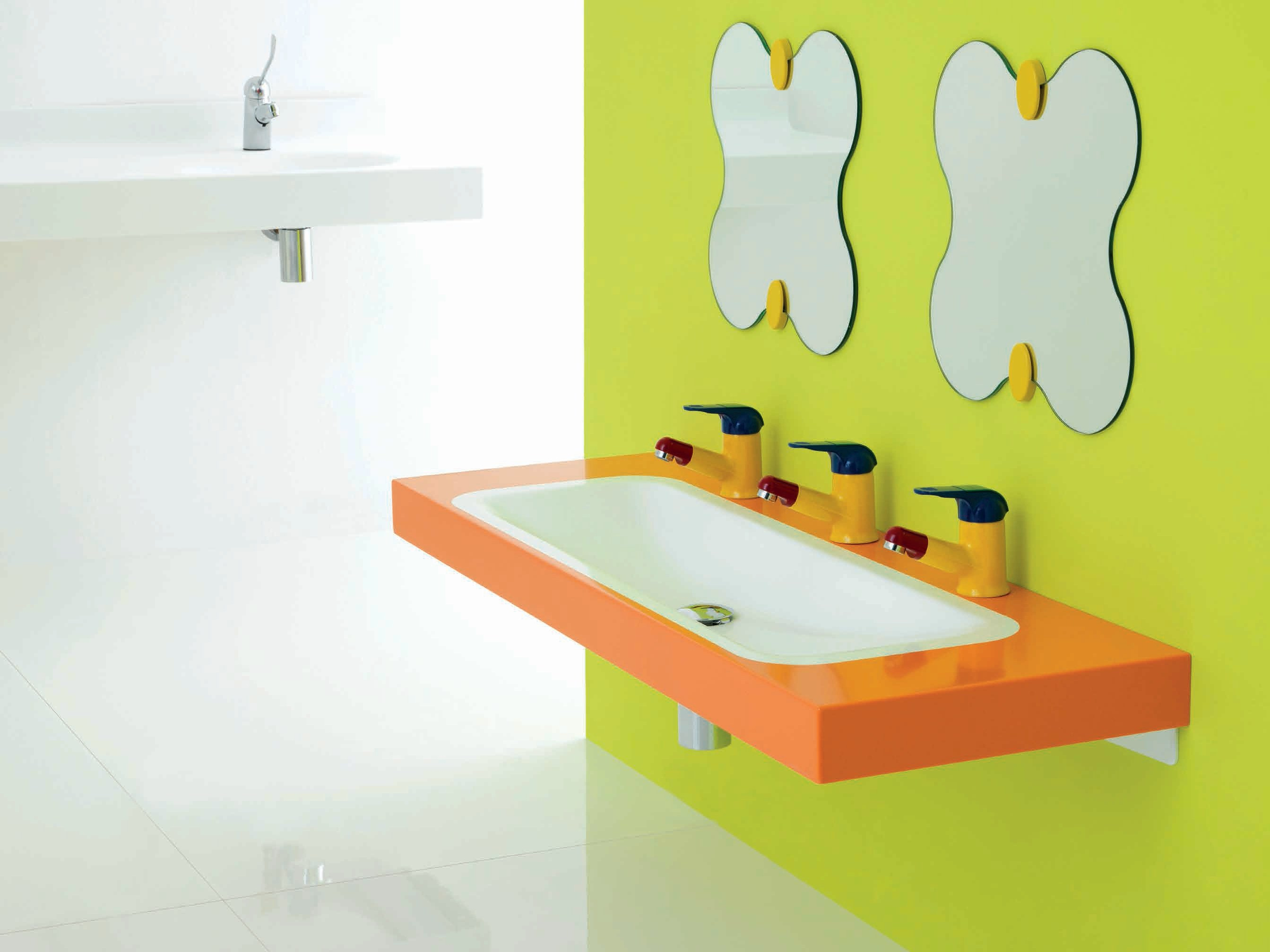 bagnocucciolo milk lavabo by ponte giulio. Black Bedroom Furniture Sets. Home Design Ideas