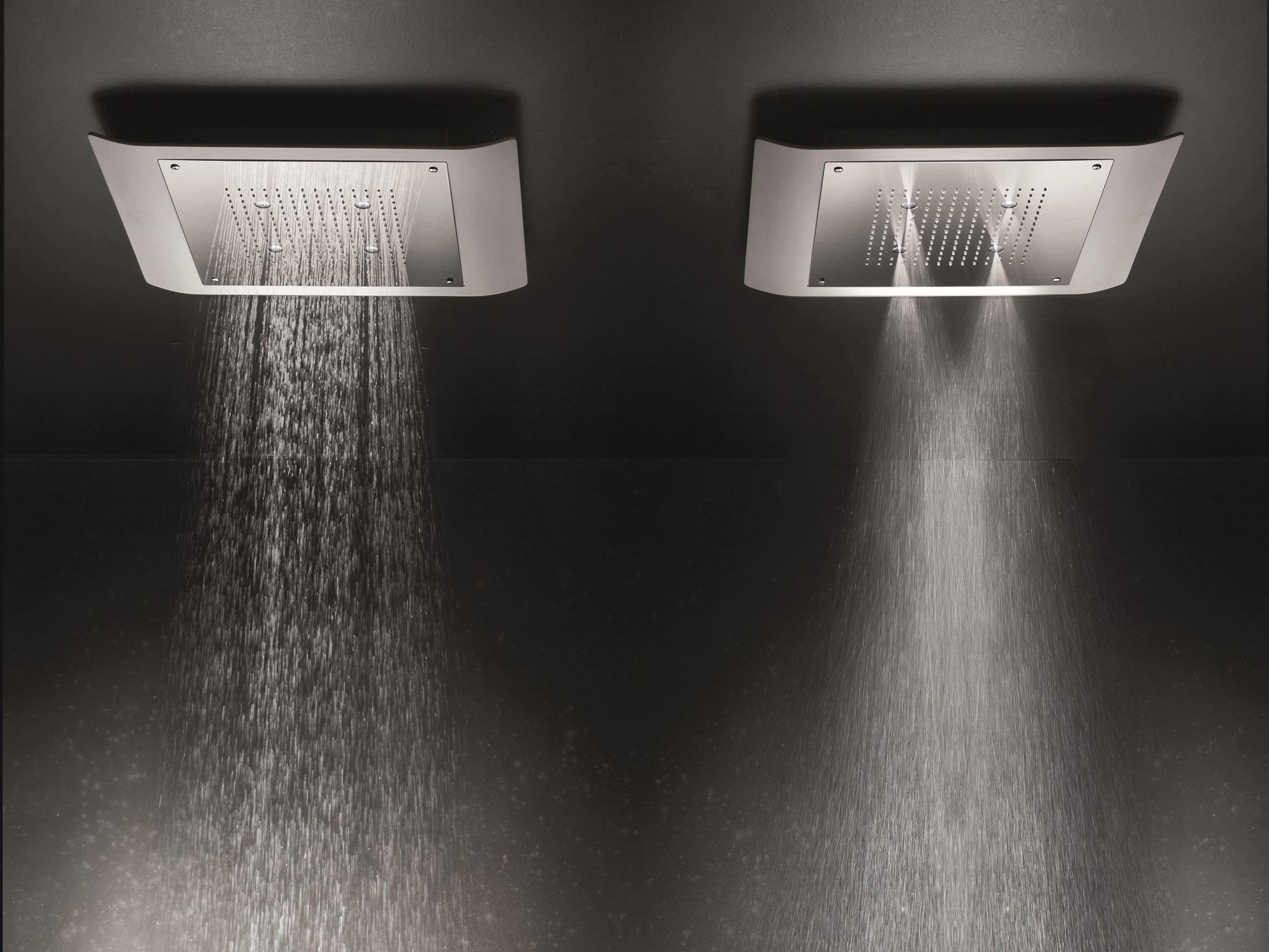 Mac t te de douche avec 2 jets by geda - Tete de douche pluie ...