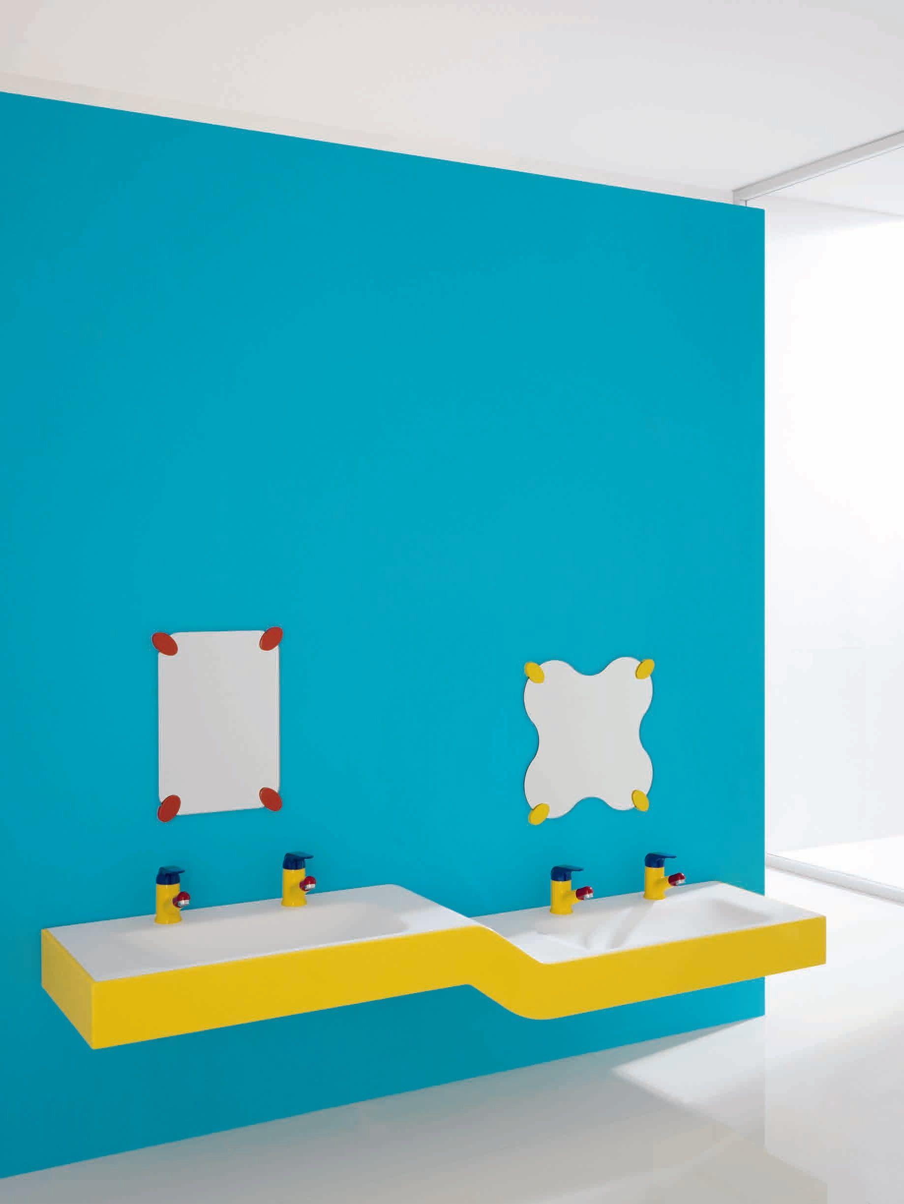 Milk miroir by ponte giulio - Salle de bain pour enfant ...
