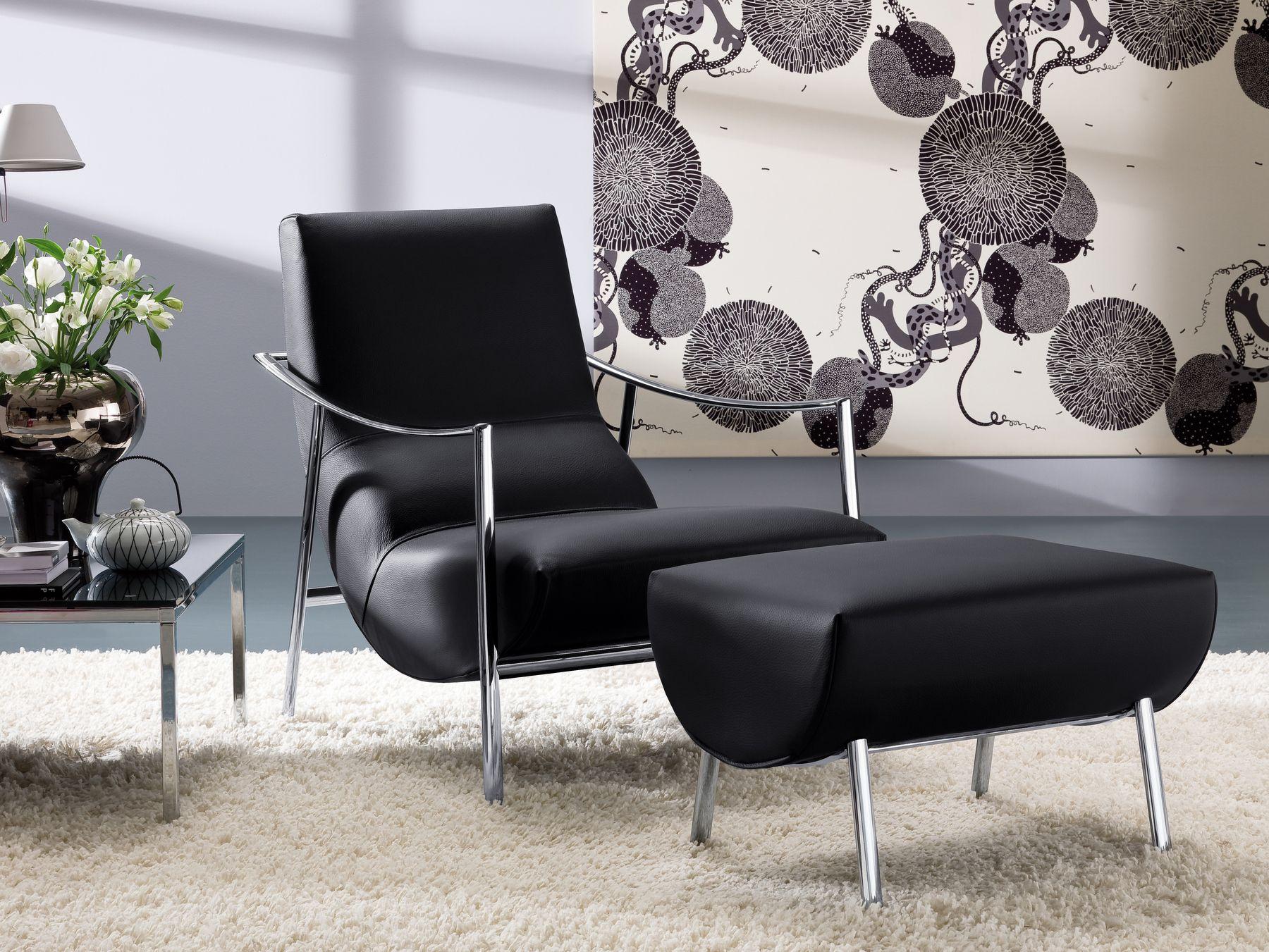atul leather armchair by bontempi casa design carlo bimbi. Black Bedroom Furniture Sets. Home Design Ideas