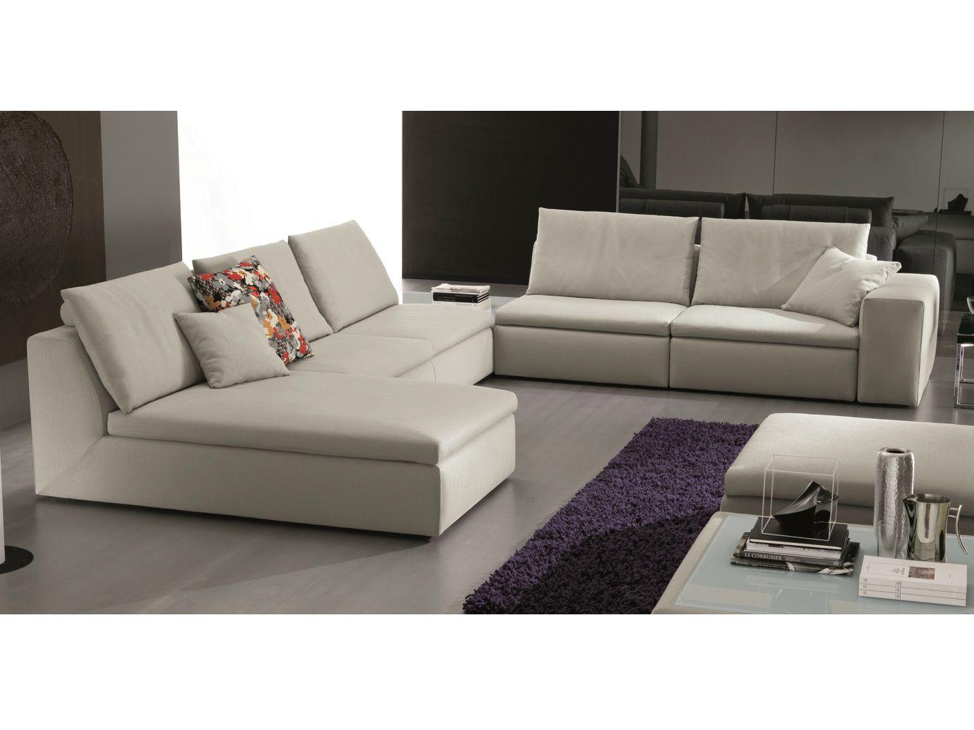 Bryan divano angolare by bontempi casa design fabrizio for Divano angolare in tessuto