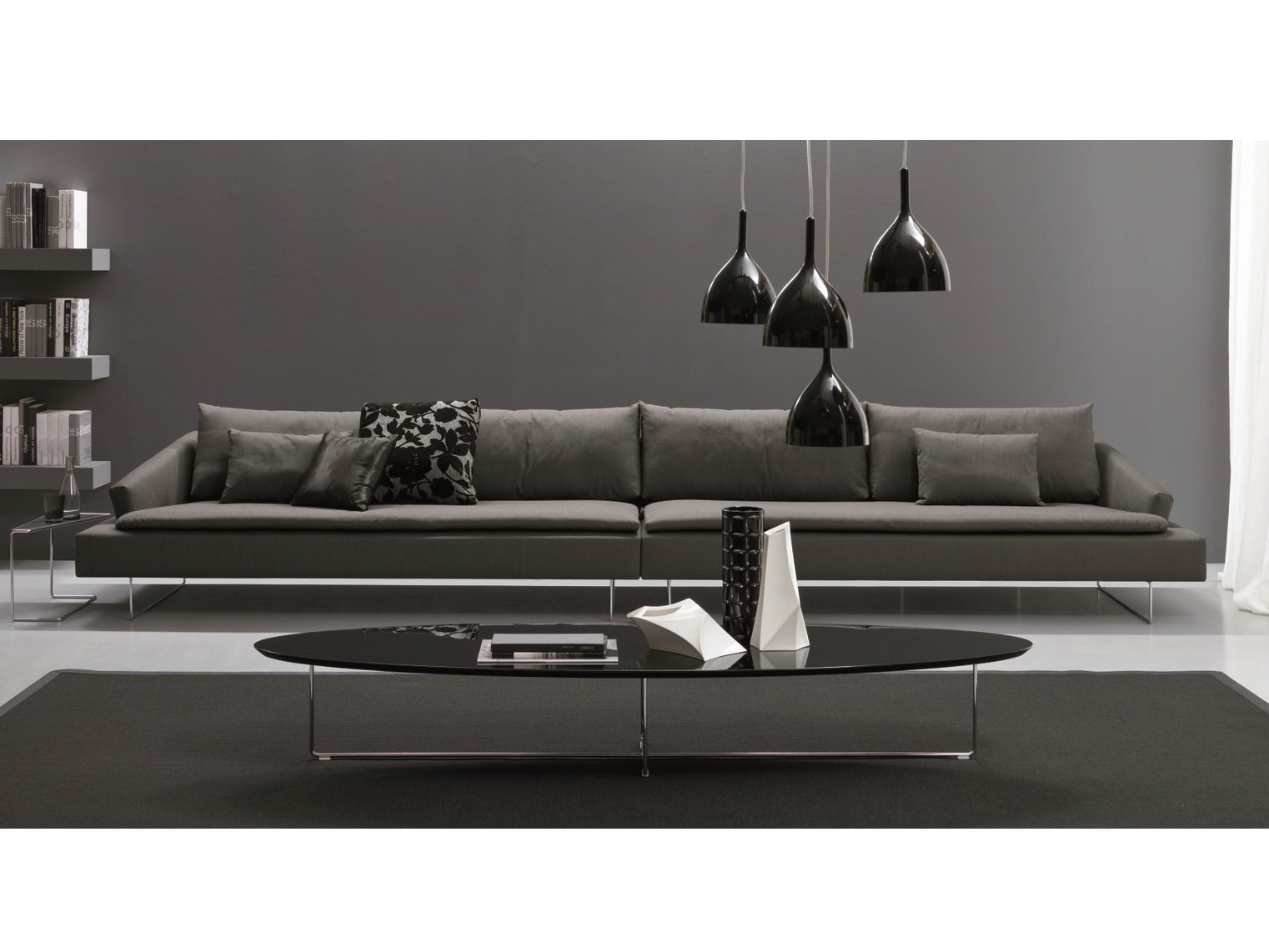 Itaca 6 seater sofa by bontempi casa design angelo natuzzi for 6 seater sectional sofa