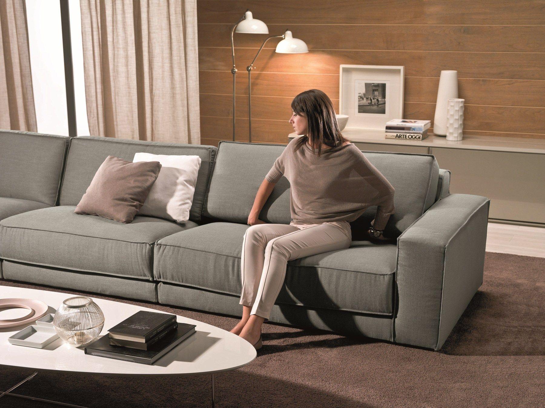 Soft sof 5 plazas by bontempi casa dise o daniele molteni for Sofas 4 plazas reclinables