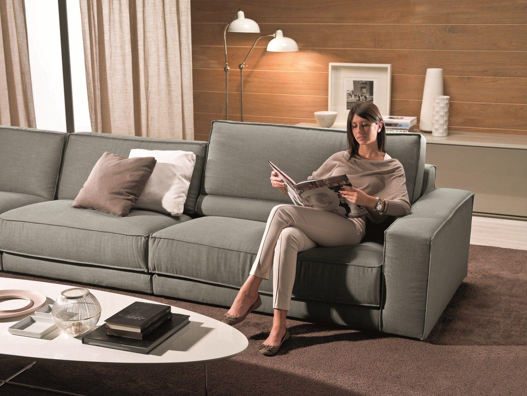 soft canap 5 places by bontempi casa design daniele molteni. Black Bedroom Furniture Sets. Home Design Ideas