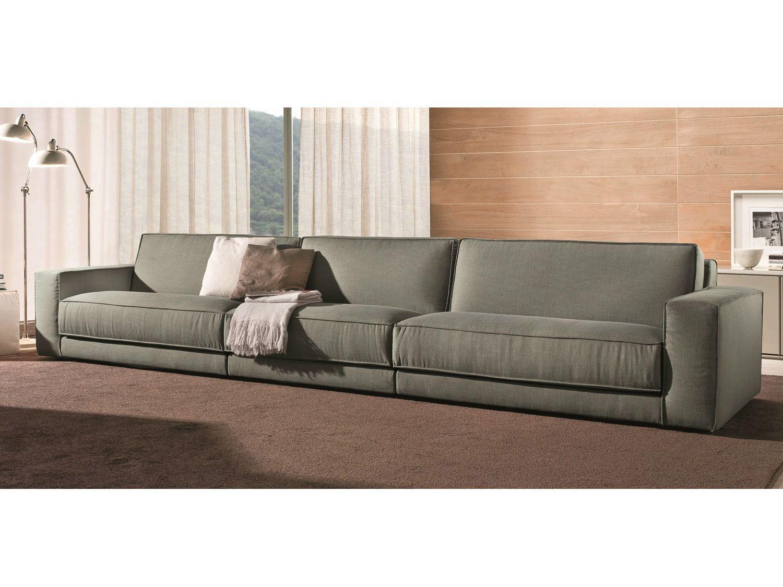 Soft 5 seater sofa by bontempi casa design daniele molteni for Sofa 5 plazas medidas