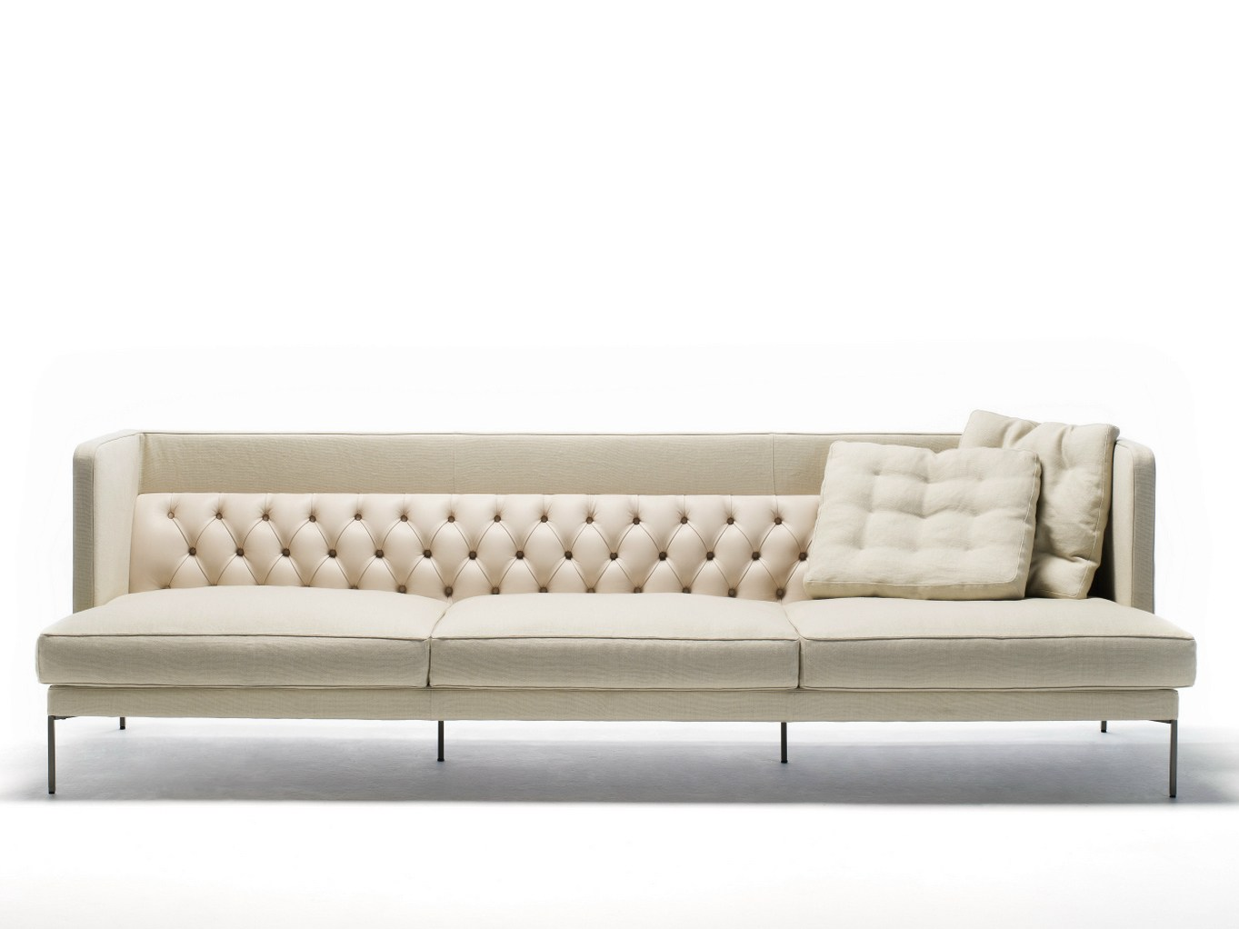Lipp divano by living divani design piero lissoni for Sofa divano