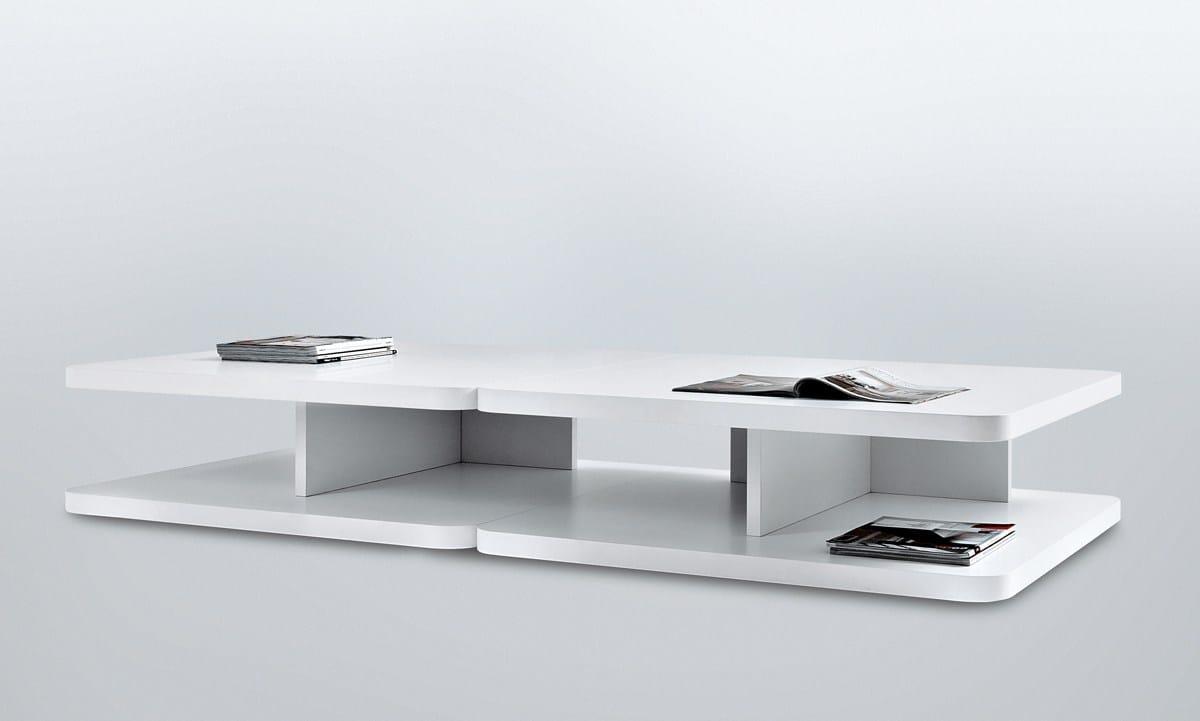 Lackierter rechteckiger Couchtisch PACO by MisuraEmme