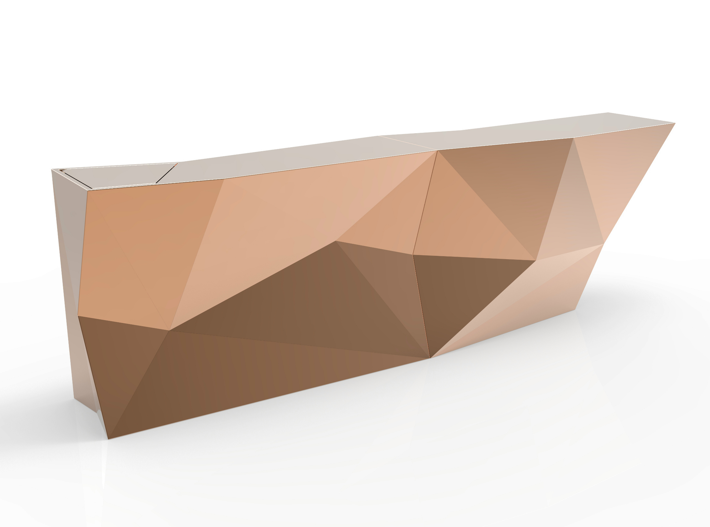 Faz bar counter by vondom design ram n esteve - Bar counter design ...