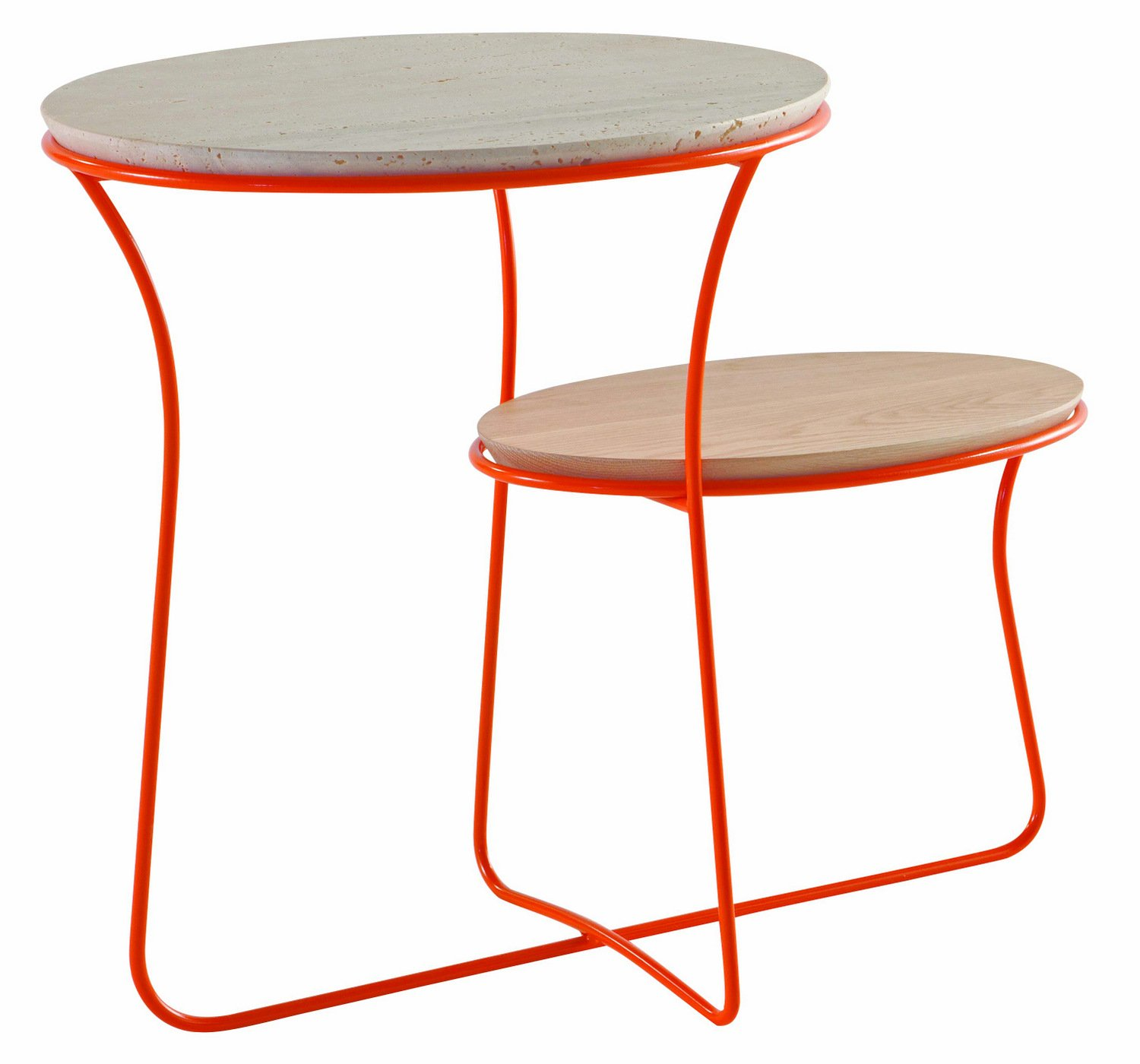 Coffee table oris by roche bobois design christophe delcourt - Table roche et bobois ...