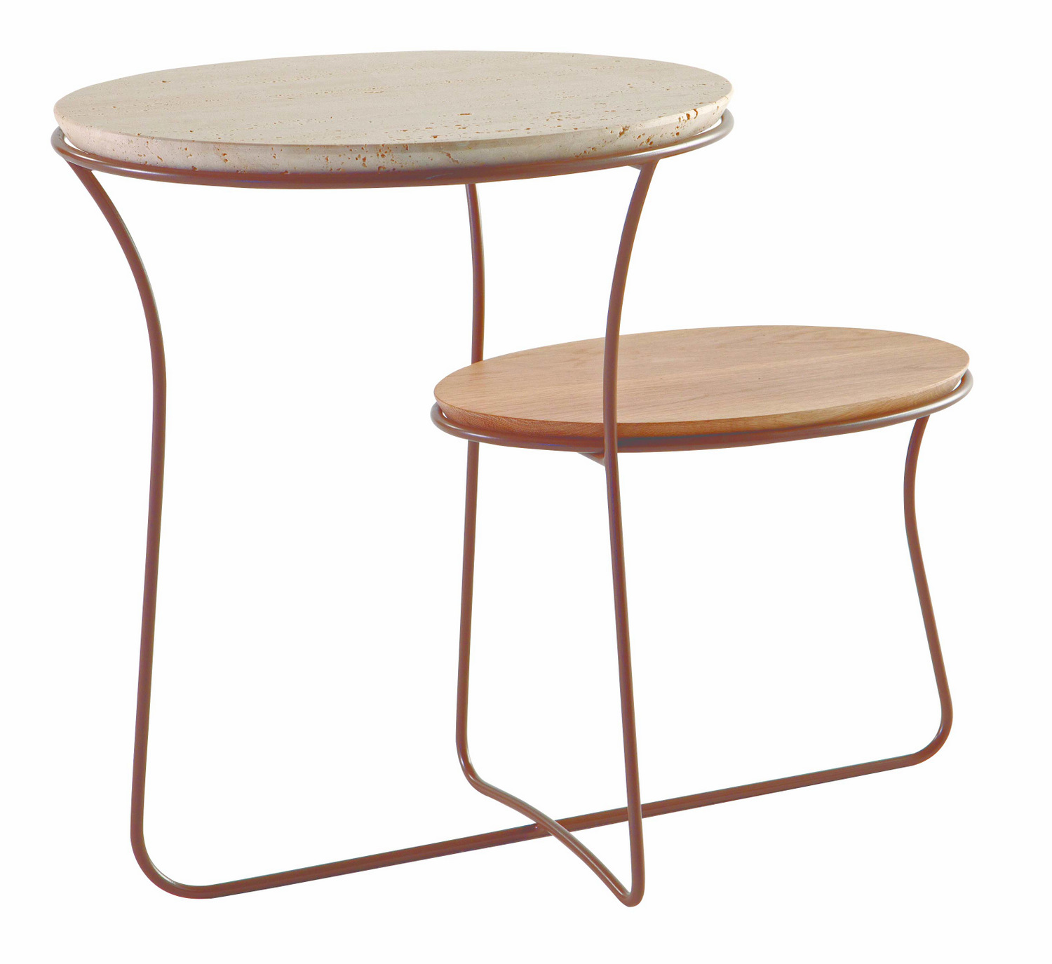 Coffee table oris by roche bobois design christophe delcourt for Table extensible roche bobois