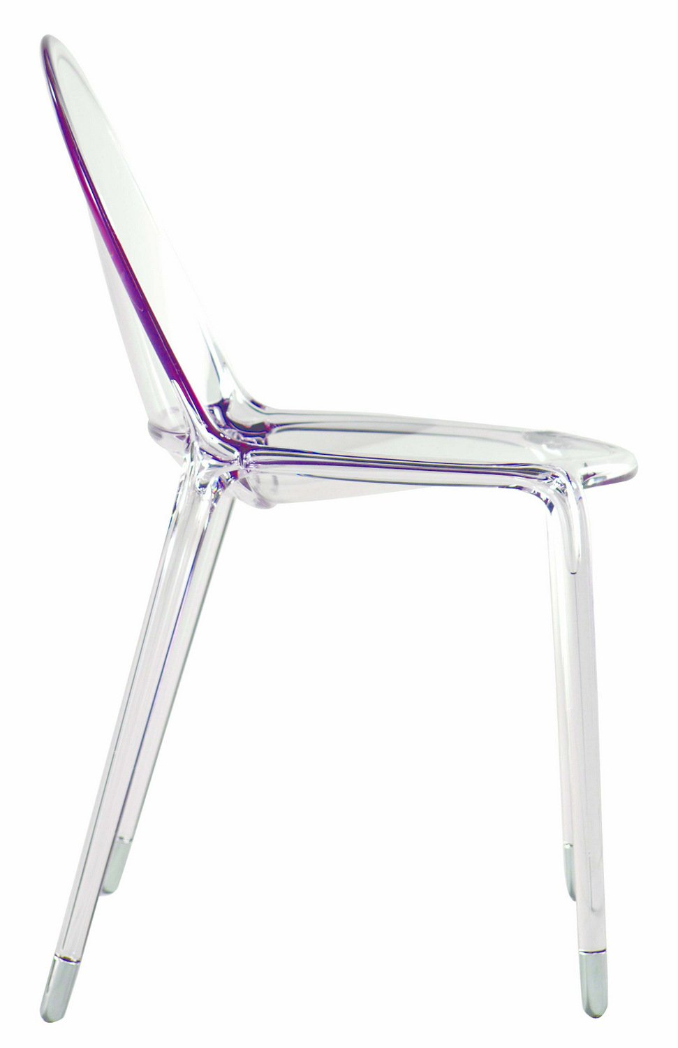 Chaise empilable en polycarbonate loop by roche bobois for Chaise en polycarbonate