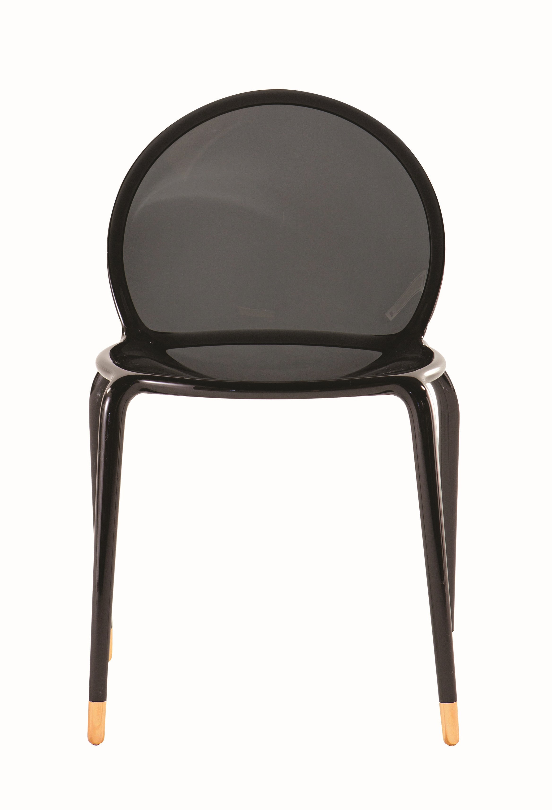 stackable polycarbonate chair loop by roche bobois design. Black Bedroom Furniture Sets. Home Design Ideas