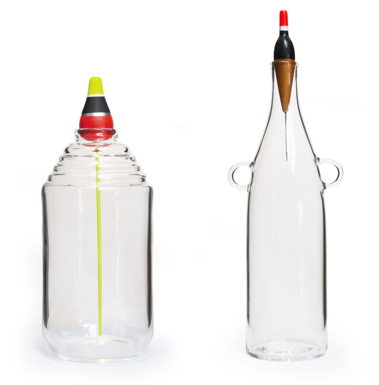 vase en verre souffl les pescadous by roche bobois design. Black Bedroom Furniture Sets. Home Design Ideas
