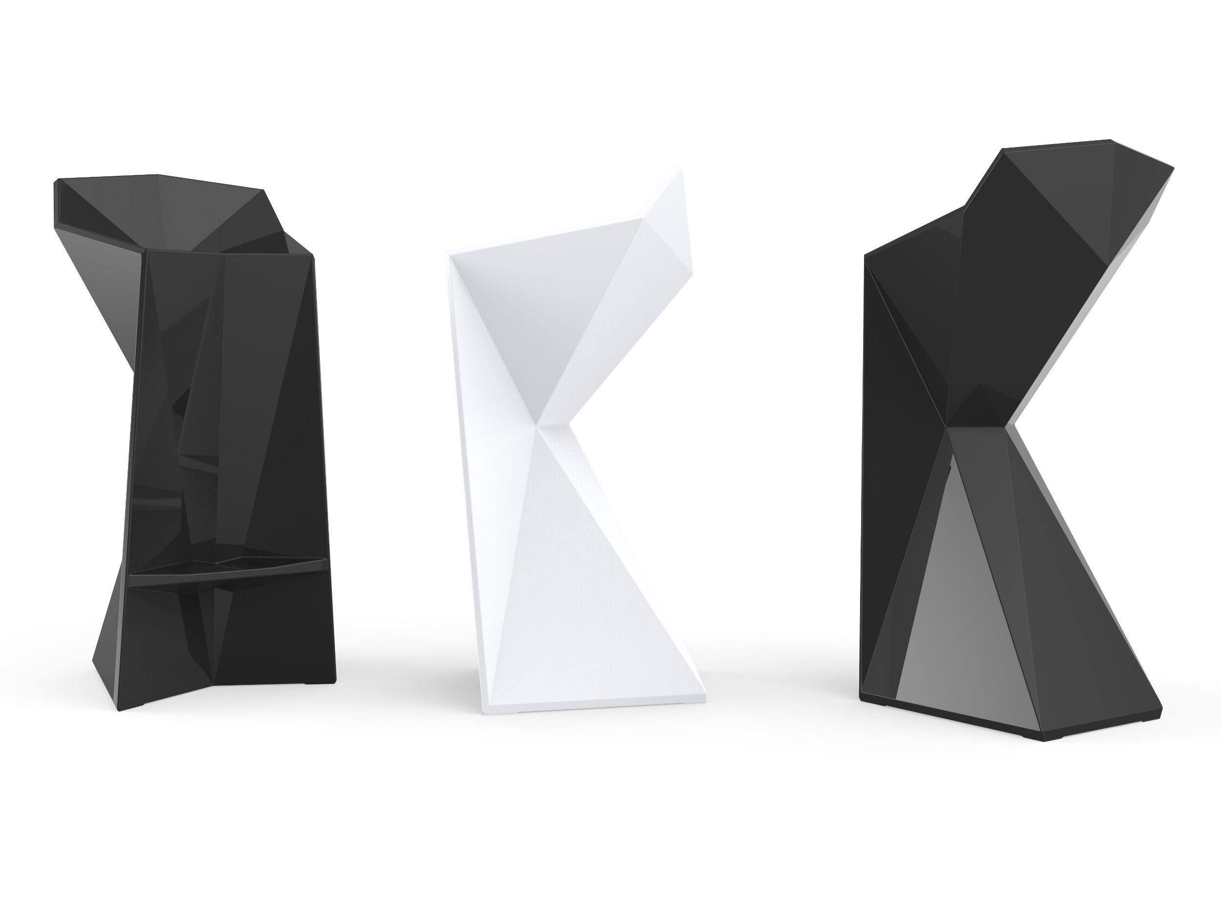 Vertex garden stool by vondom design karim rashid for Chaise design italien