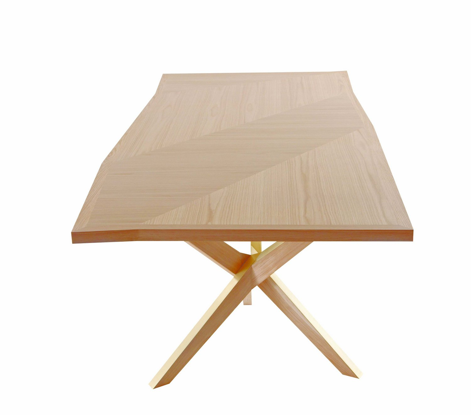 Table rectangulaire en bois jane by roche bobois design - Table roche et bobois ...