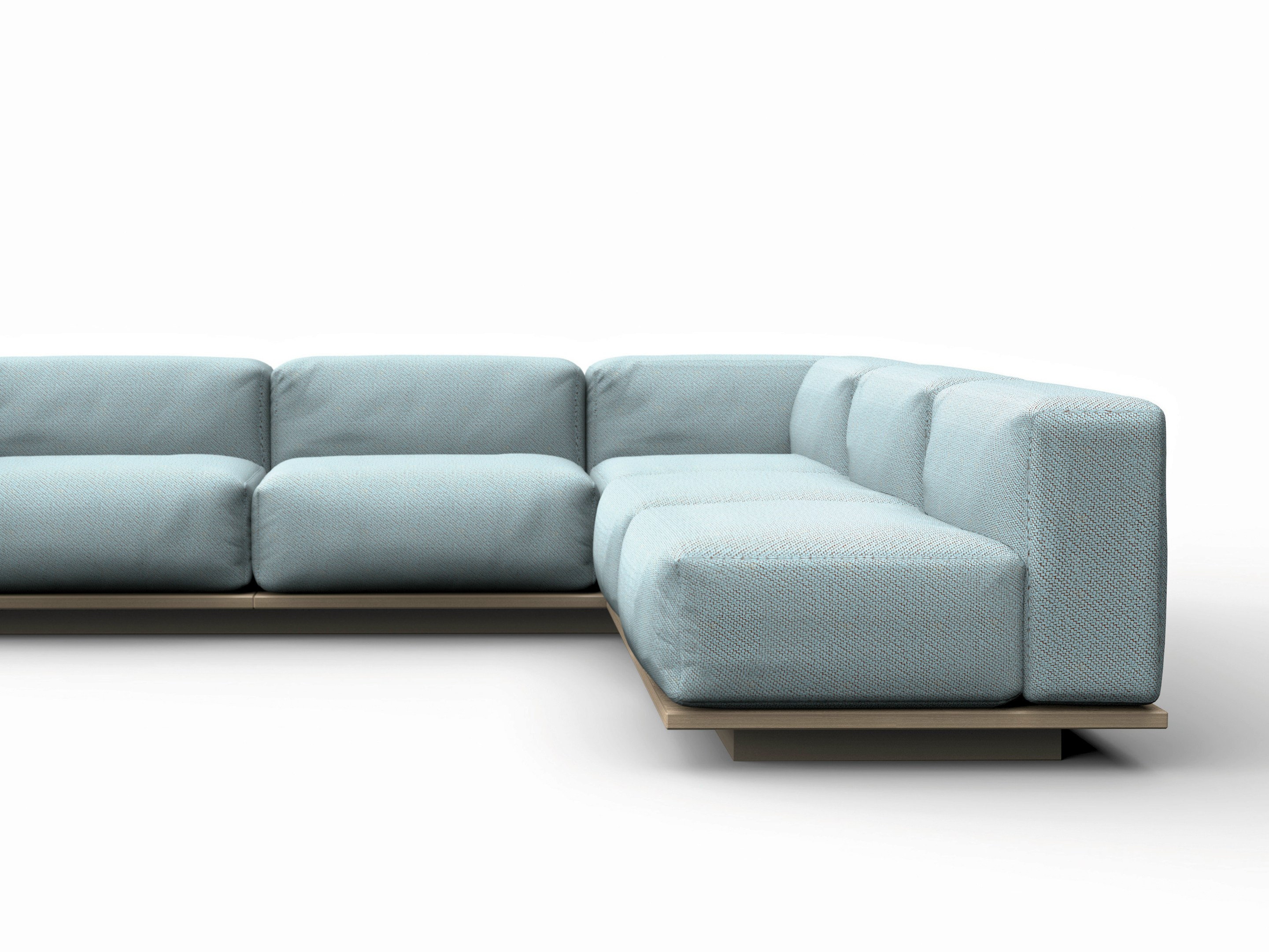 Canap modulable en tissu meet by offecct design robin for Canape modulable