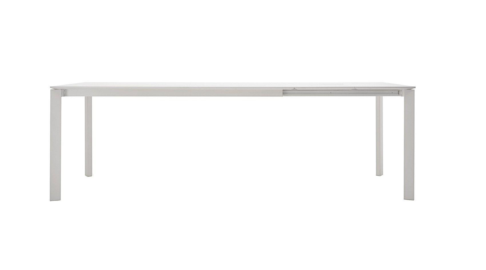 Table extensible en bois aggloméré mélaminé DUBLINO by Bontempi Casa