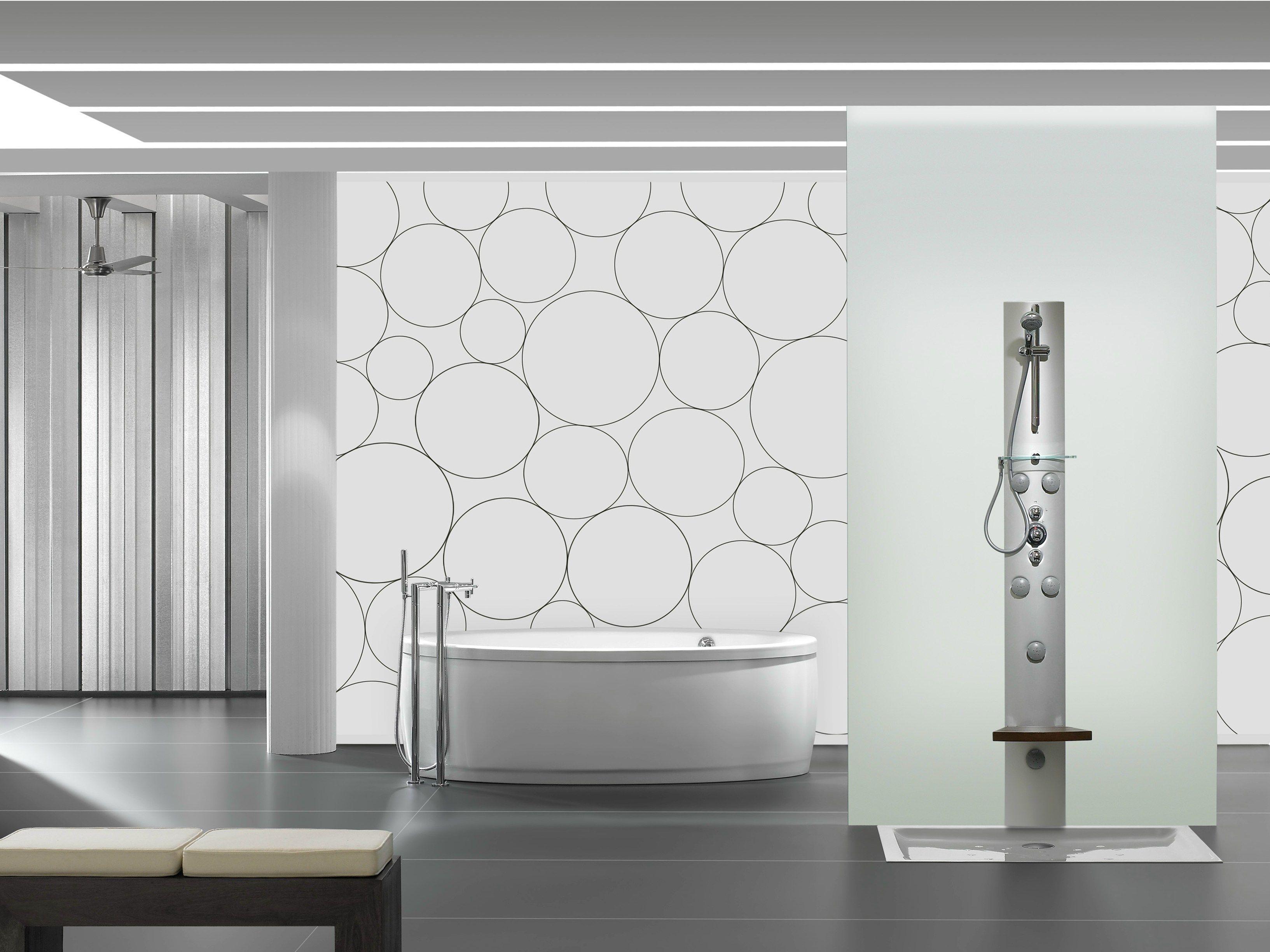 Vasca da bagno centro stanza ovale GEORGIA by ROCA SANITARIO