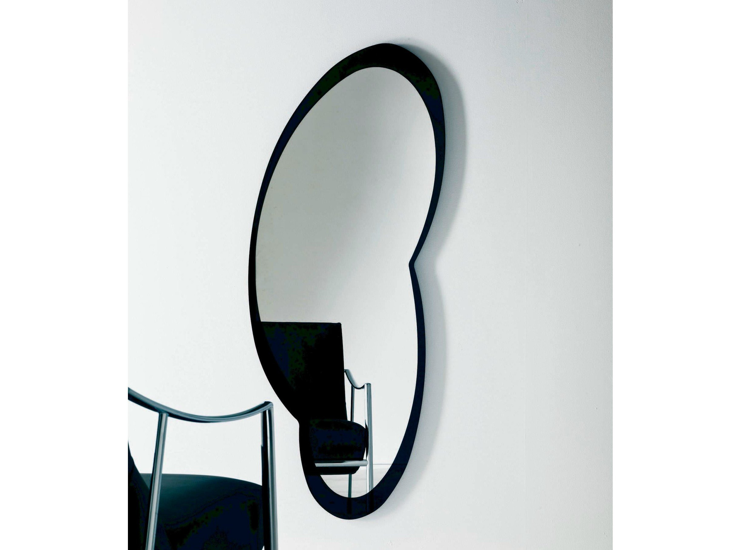 Miroir mural tizio by bontempi casa design giorgio manzali for But miroir mural