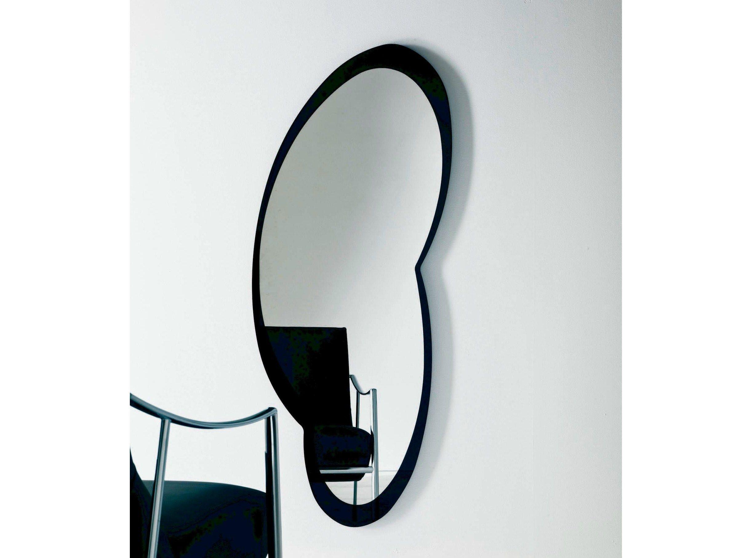 Miroir mural tizio by bontempi casa design giorgio manzali for Miroir mural
