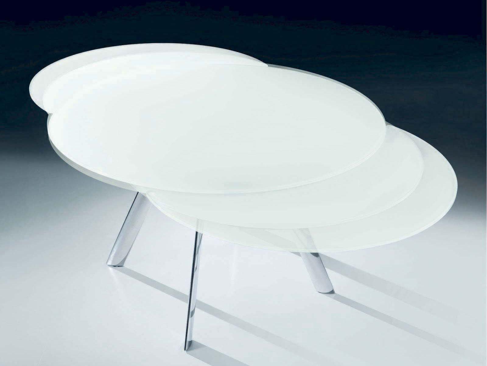 Giro table ronde by bontempi casa design enio calosi - Table ronde telescopique ...