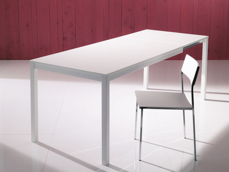Tavolo da pranzo rettangolare mago tavolo allungabile for Cerco tavolo da cucina allungabile
