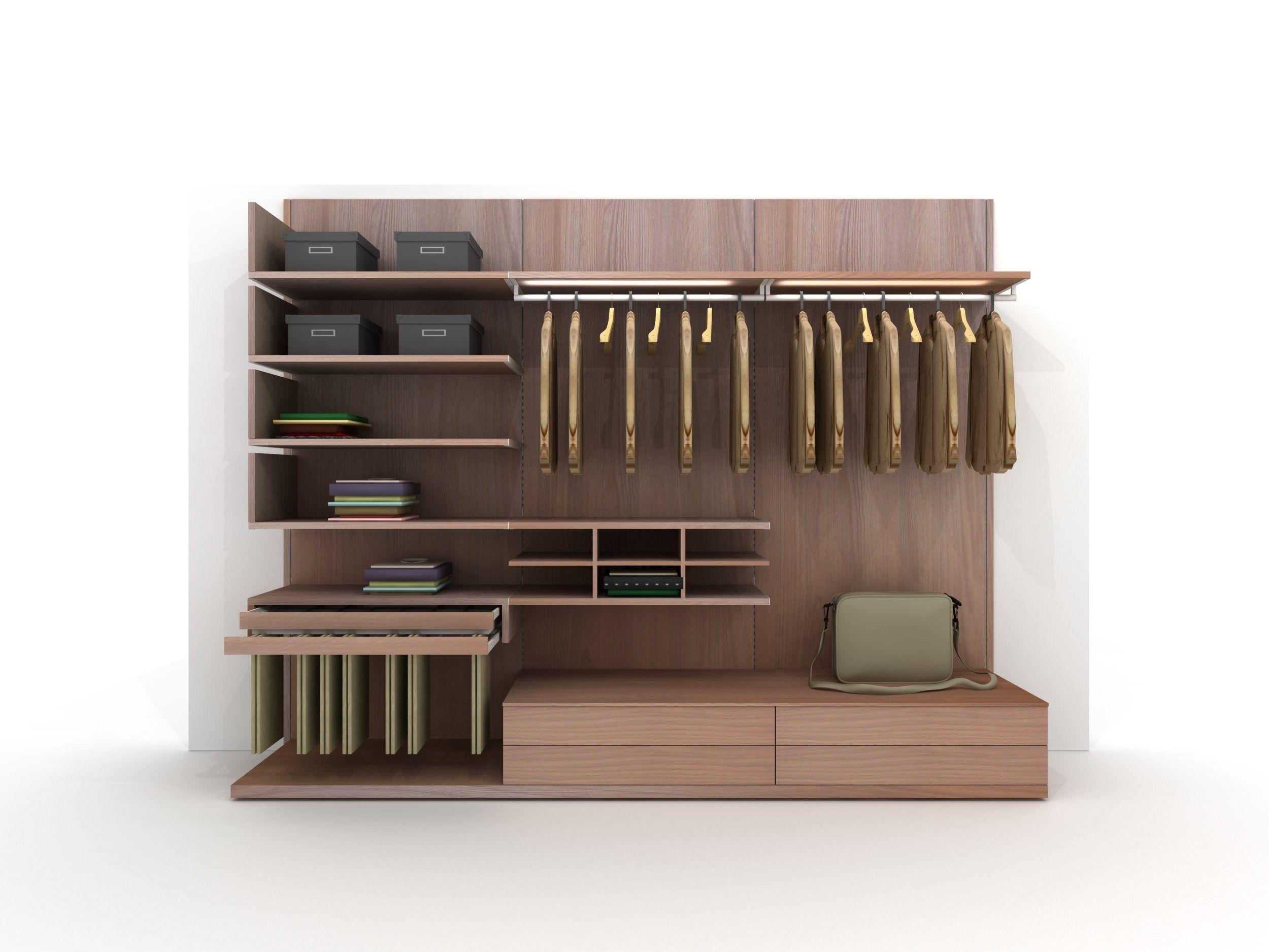 Armario vestidor de esquina de madera z403 by zalf - Armario de esquina ...