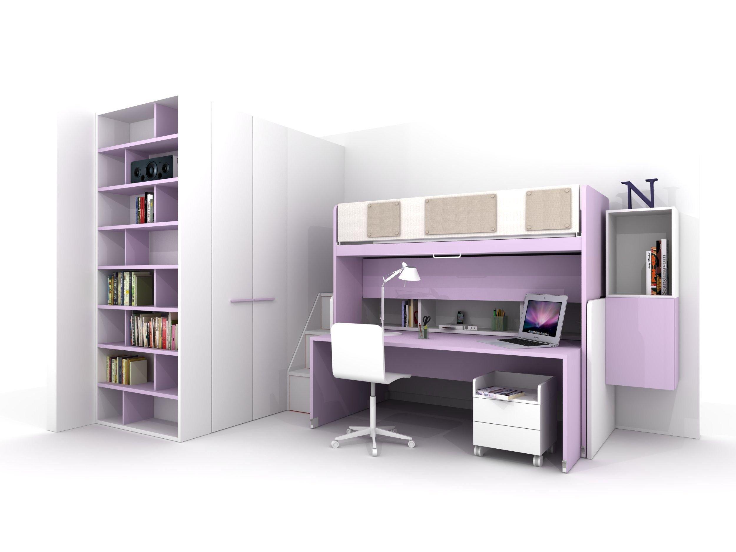 z407 cameretta by zalf. Black Bedroom Furniture Sets. Home Design Ideas