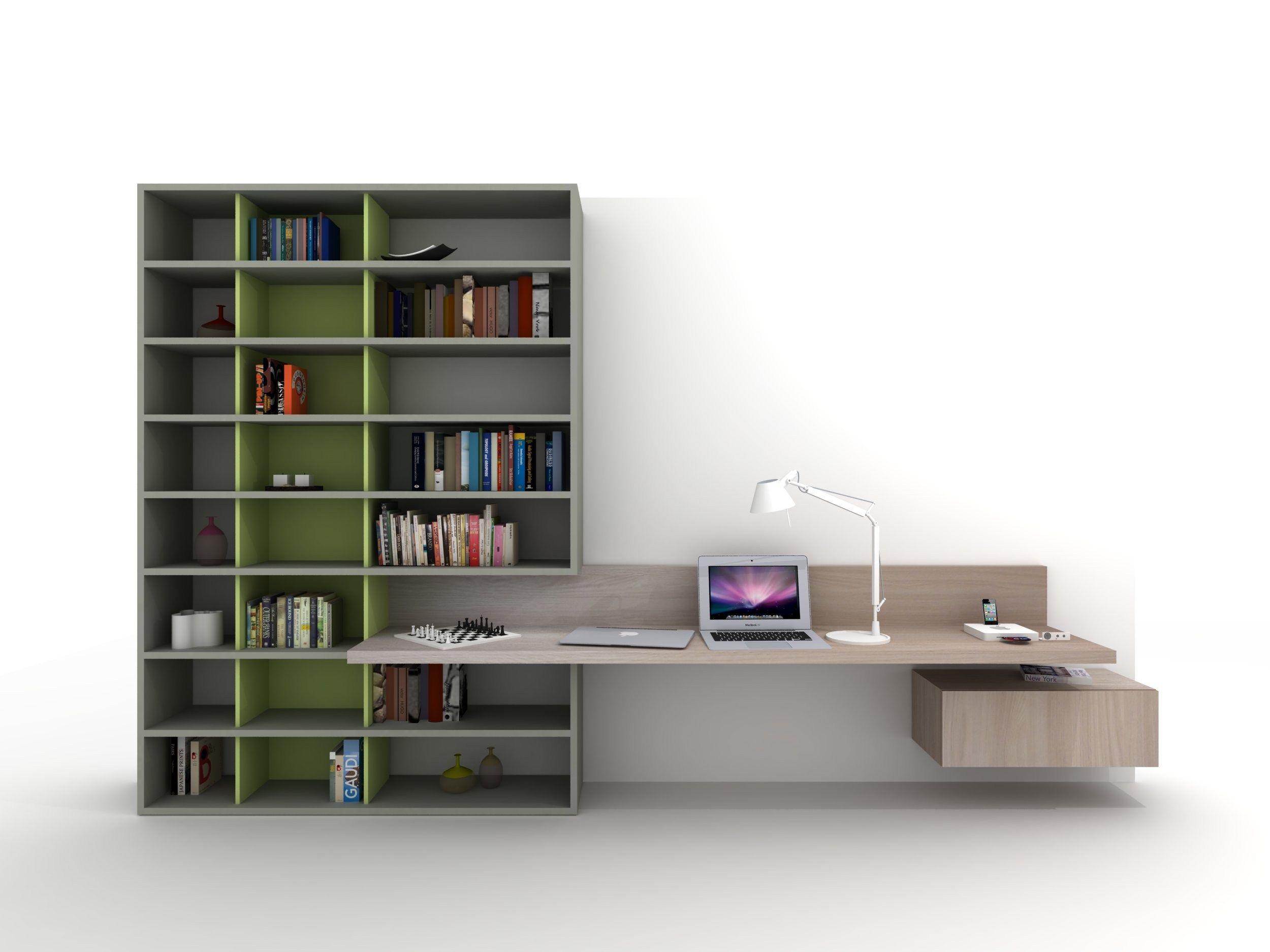 Escritorio con estanter a para habitaciones de ni os z410 - Estanterias para escritorios ...