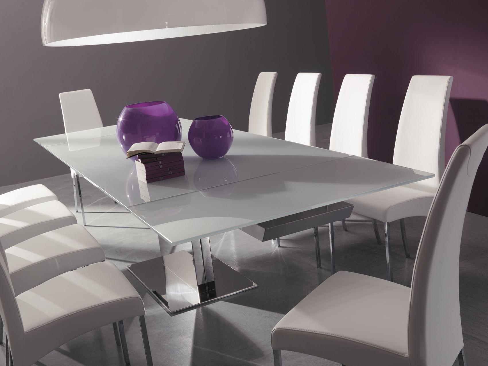 oasi extending table by bontempi casa design sergio giobbi. Black Bedroom Furniture Sets. Home Design Ideas