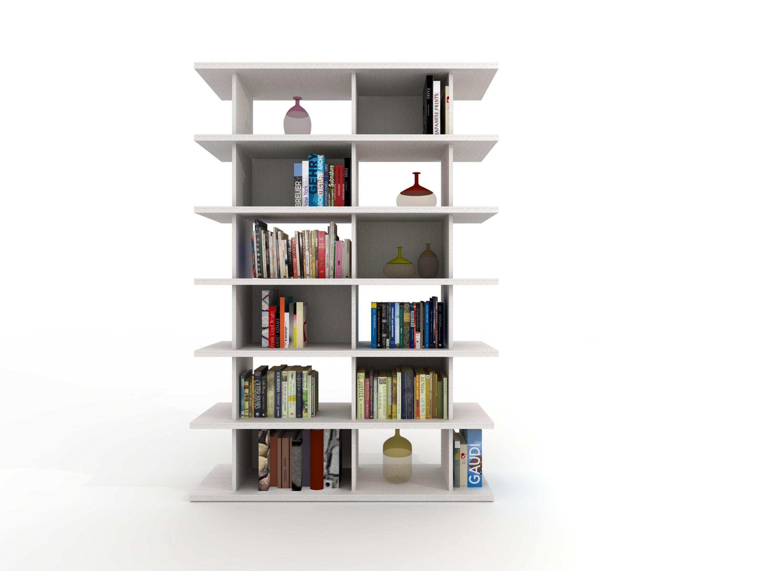 Libreria a giorno componibile modulare Z411  Libreria - Zalf