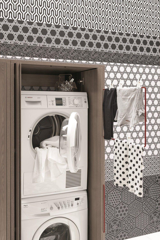acqua e sapone armoire de buanderie haute by birex design monica graffeo. Black Bedroom Furniture Sets. Home Design Ideas