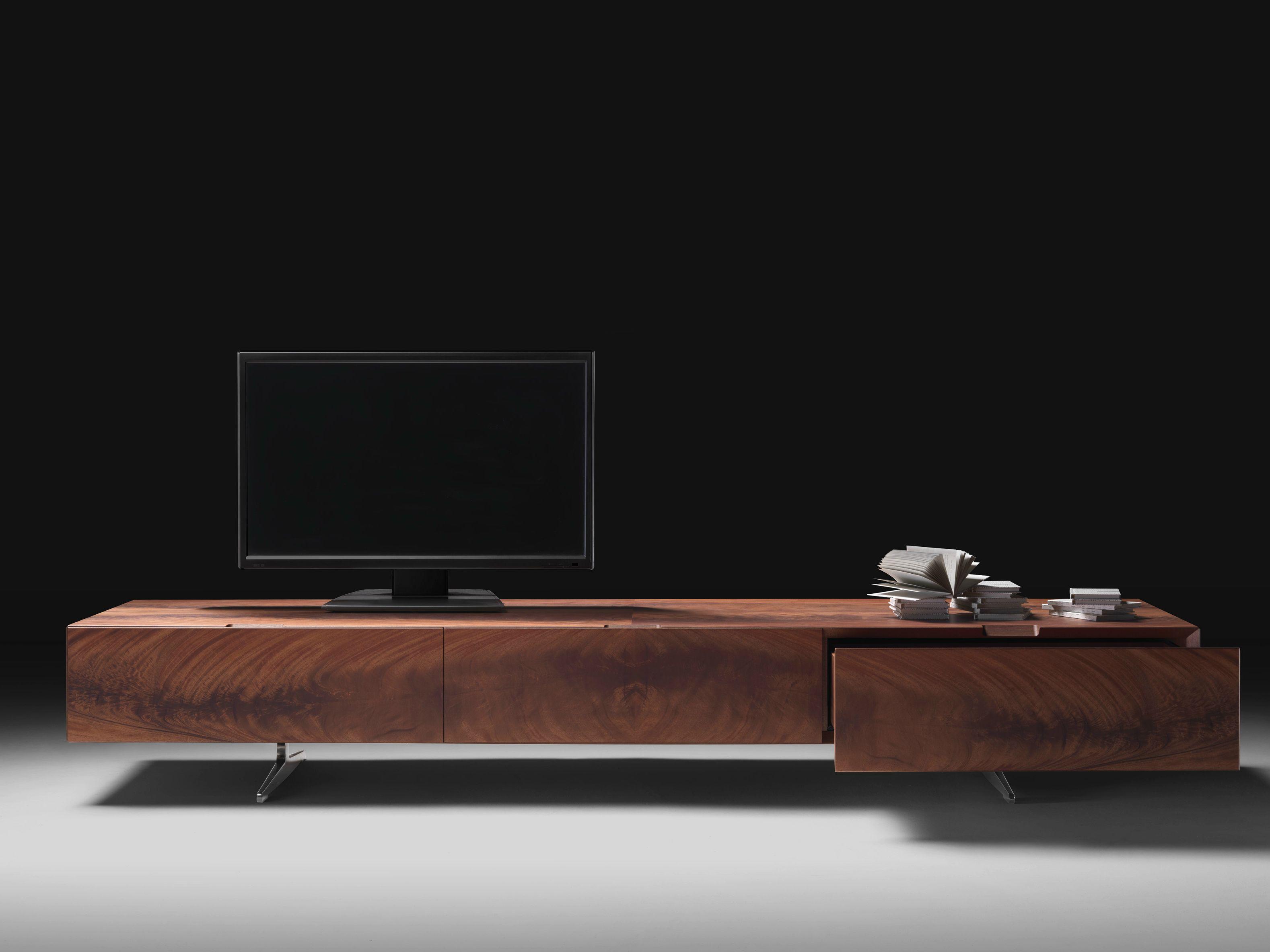TV-Lowboard aus Holz PIUMA  TV-Möbel - FLEXFORM