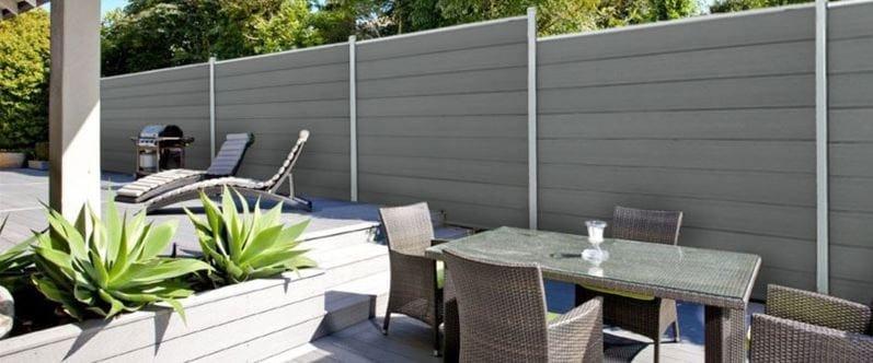 Recinzione paravista in wpc ecolegno recinzione in legno for Recinzioni in legno composito