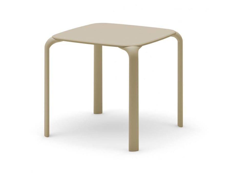 Pouf Poggiapiedi Girevole Beetle Infiniti Design : Tavolo impilabile quadrato drop