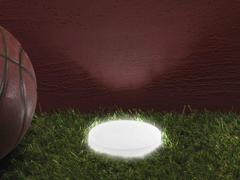 Illuminazione da incasso a led a pavimento in pmma clamp - Illuminazione a pavimento per esterni ...