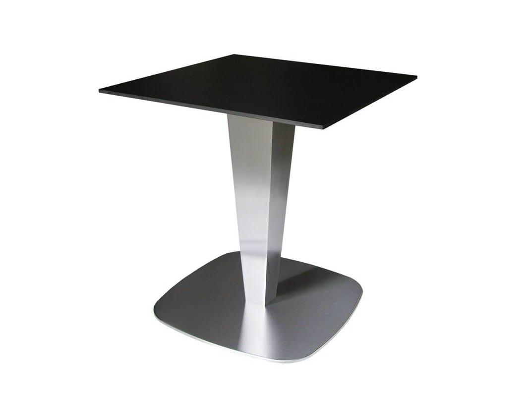 Tavolo in acciaio inox per contract rondopot 66 x vela for Vela arredamenti
