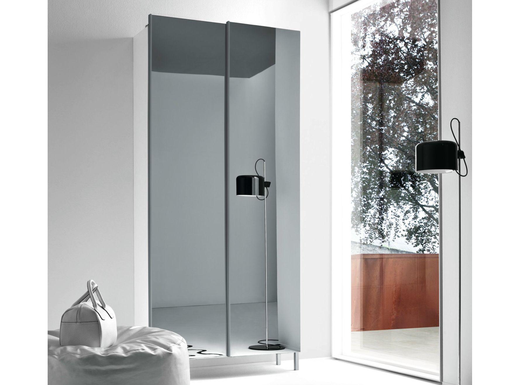 Slim armadio con specchio by birex
