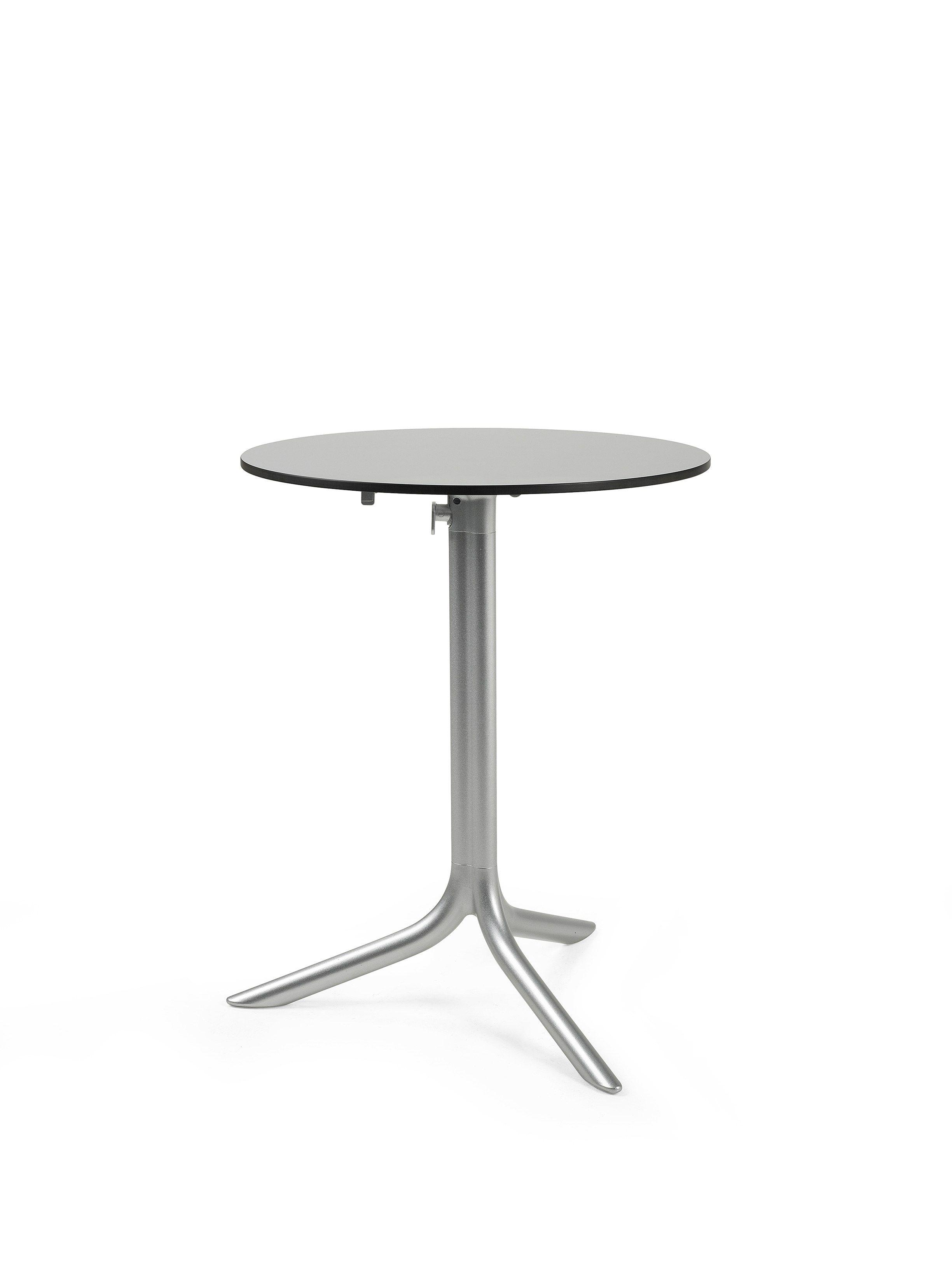 Tavolo a ribalta rotondo in alluminio in stile moderno per - Tavolo a ribalta ...