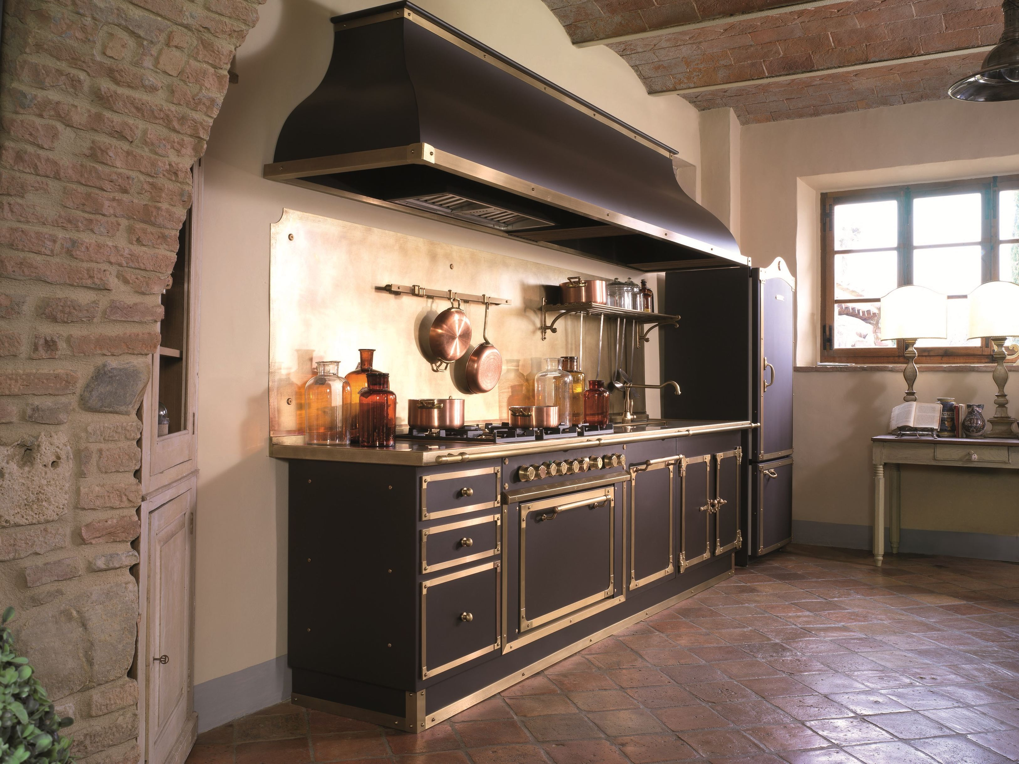 linear custom kitchen artimino palace by officine gullo