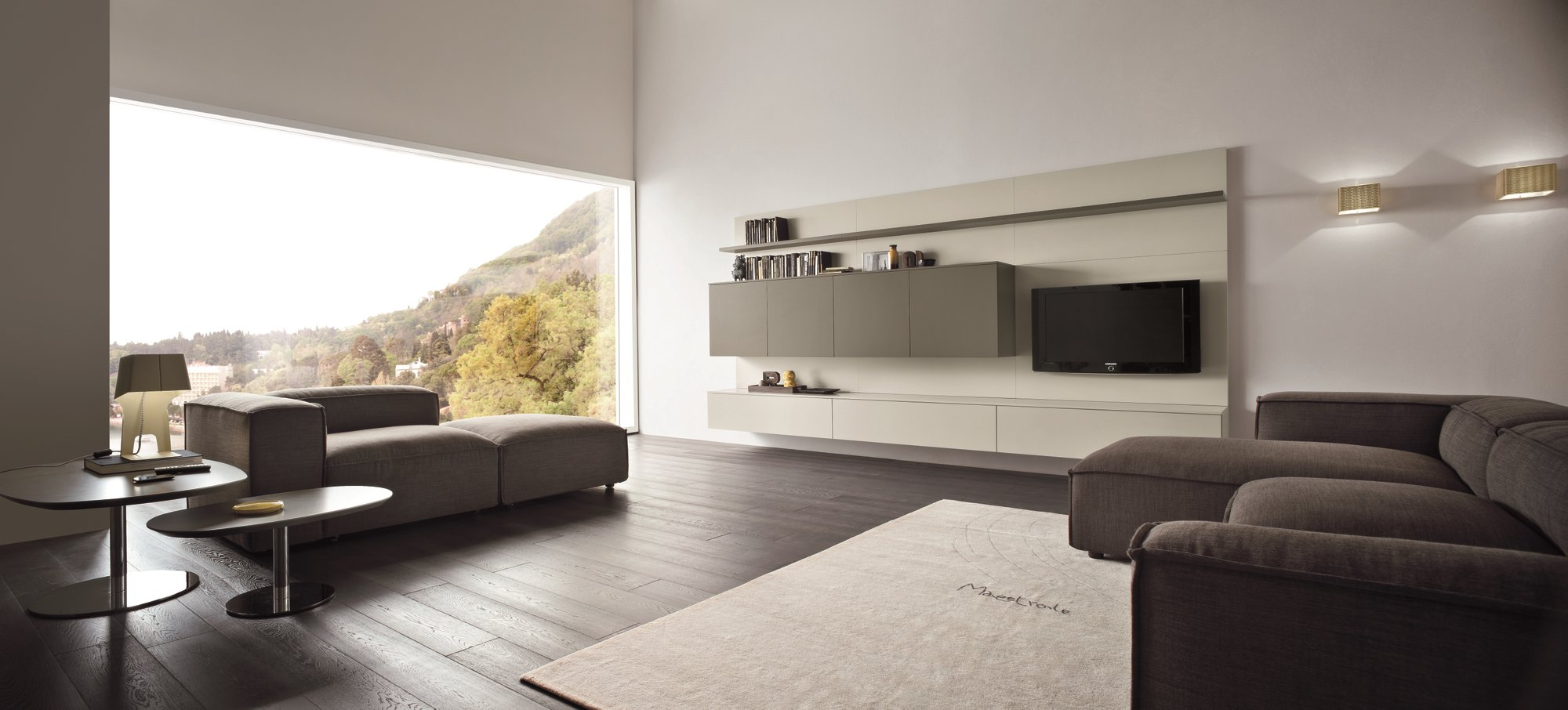 Anbau  tv  wohnwand slim 14 by dall'agnese design imago design ...