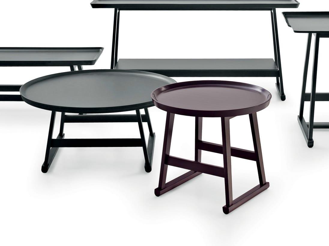 Recipio Round Coffee Table By Maxalto A Brand Of B B Italia Spa Design Antonio Citterio
