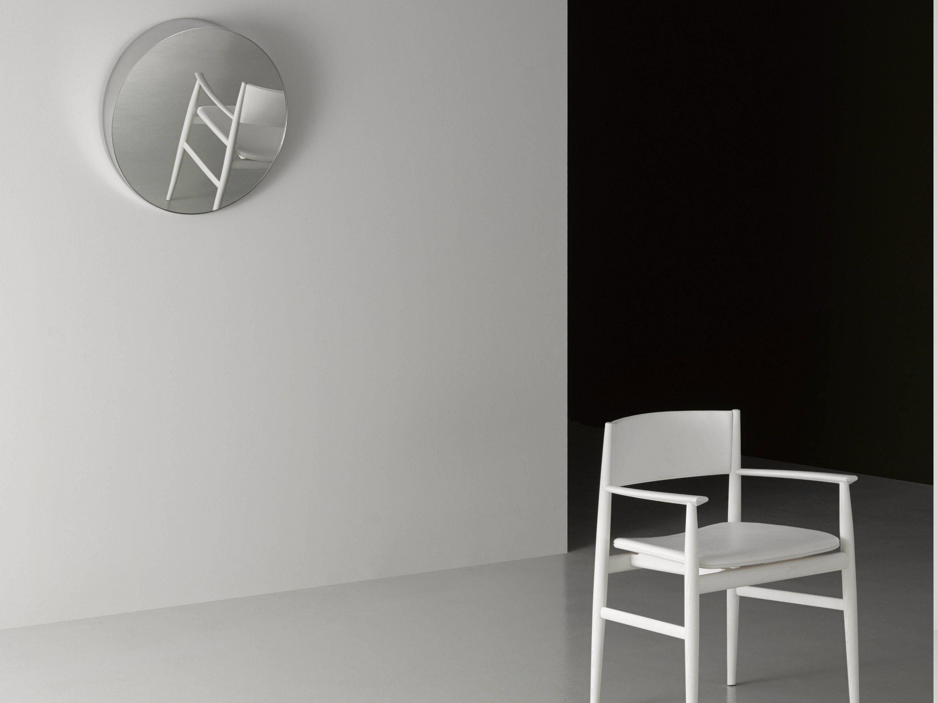 Specchio a parete con cornice bellevue by porro design - Specchio a parete ...