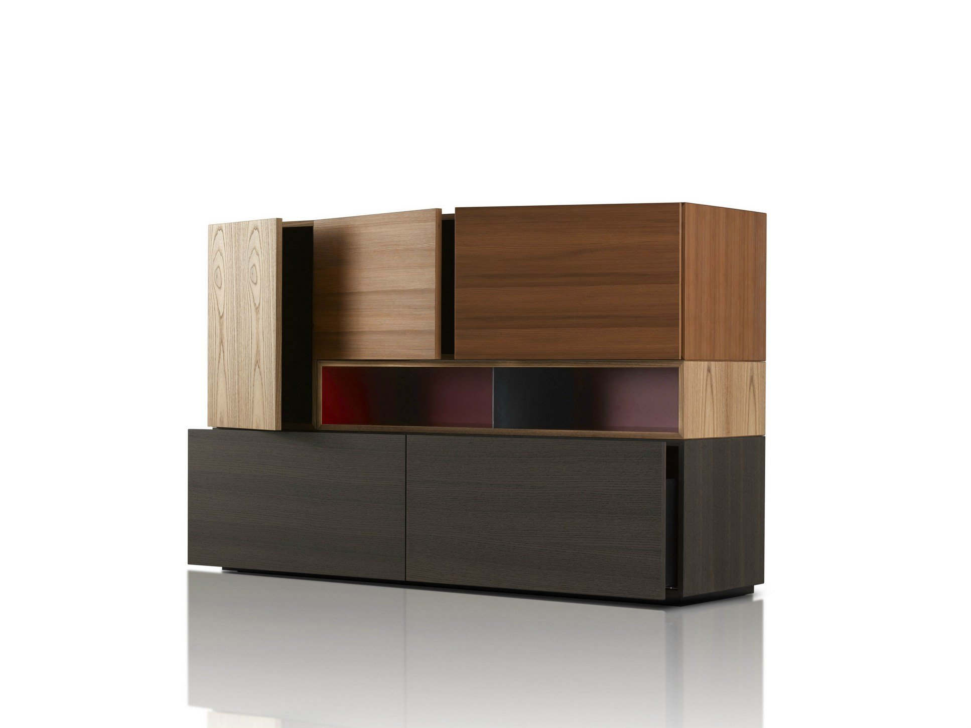 modern highboard by porro design piero lissoni. Black Bedroom Furniture Sets. Home Design Ideas
