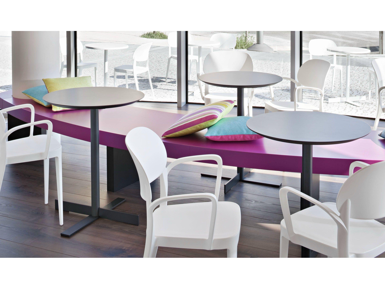 People Tavolo Rotondo By Alma Design Design Nicola Cacco